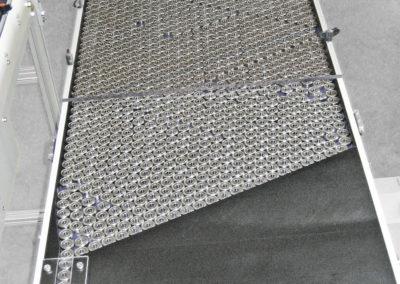 Buffering table (conveyor belt)