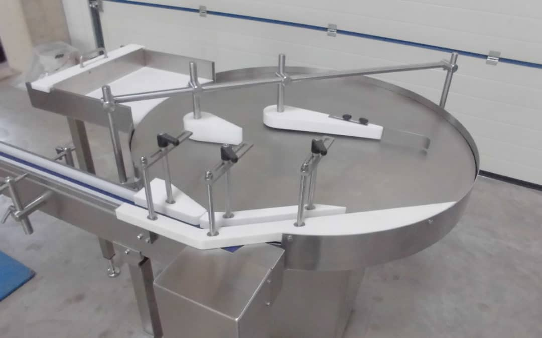 Infeed turntable (ADT)